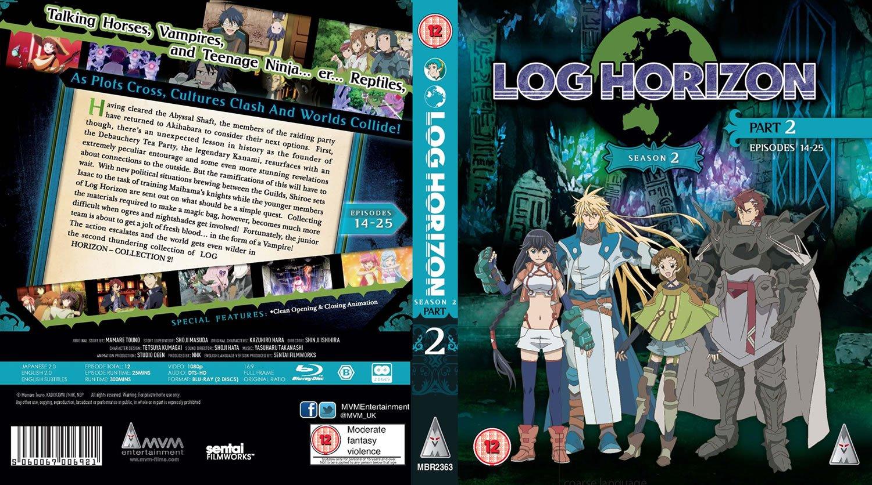 Log Horizon: Season 2 - Part 2 Edizione: Regno Unito Reino Unido ...