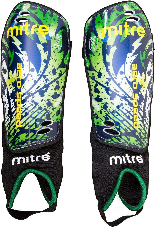 Green mitre Junior Aerospeed Soccer Shinguard