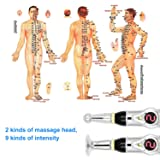 Acupuncture Pen, Gosear Electronic Accupuncture Pen Massage Pen Energy Pen Relief Pain Tools,1 x AA battery