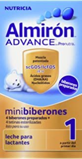 Almirón Advance con Pronutra 1 Minibiberones Leche de inicio a partir del primer día - Caja