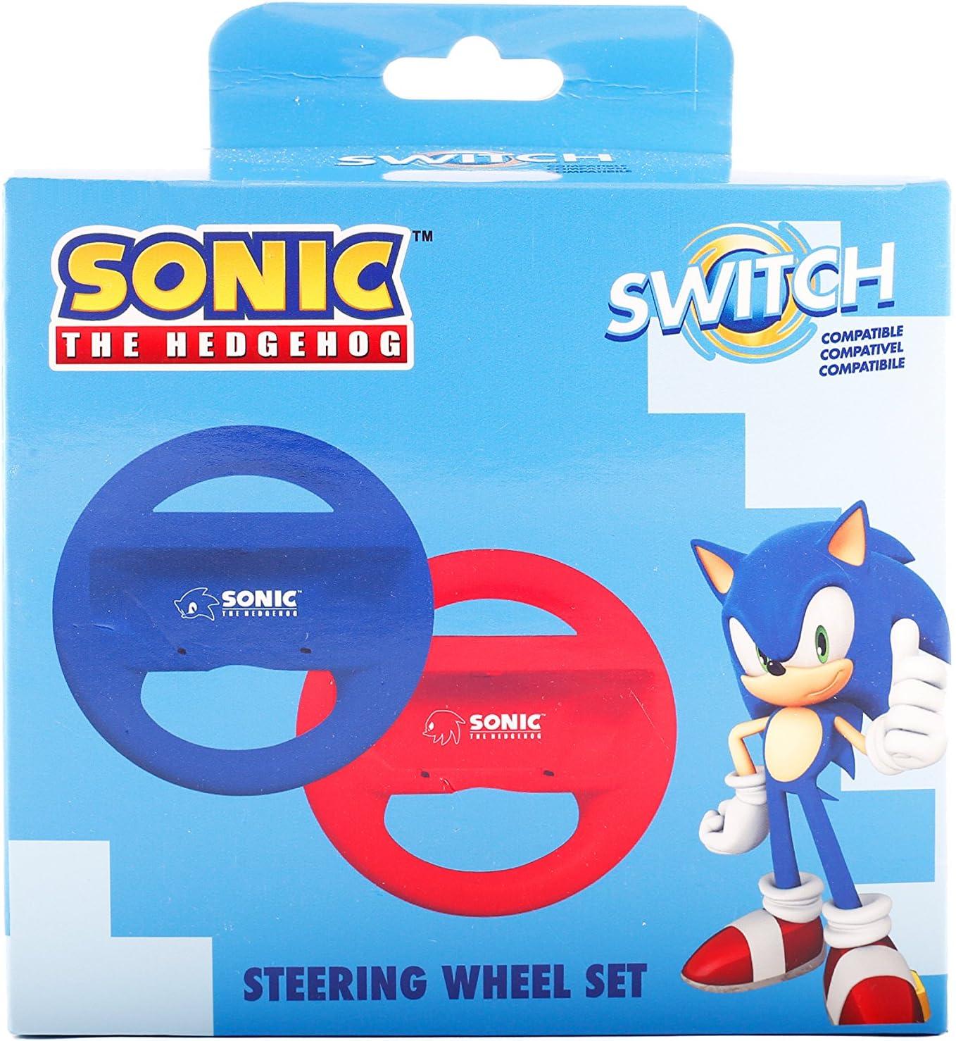 Indeca - Pack 2 Volantes Joy-Con Sonic (Nintendo Switch): Amazon ...