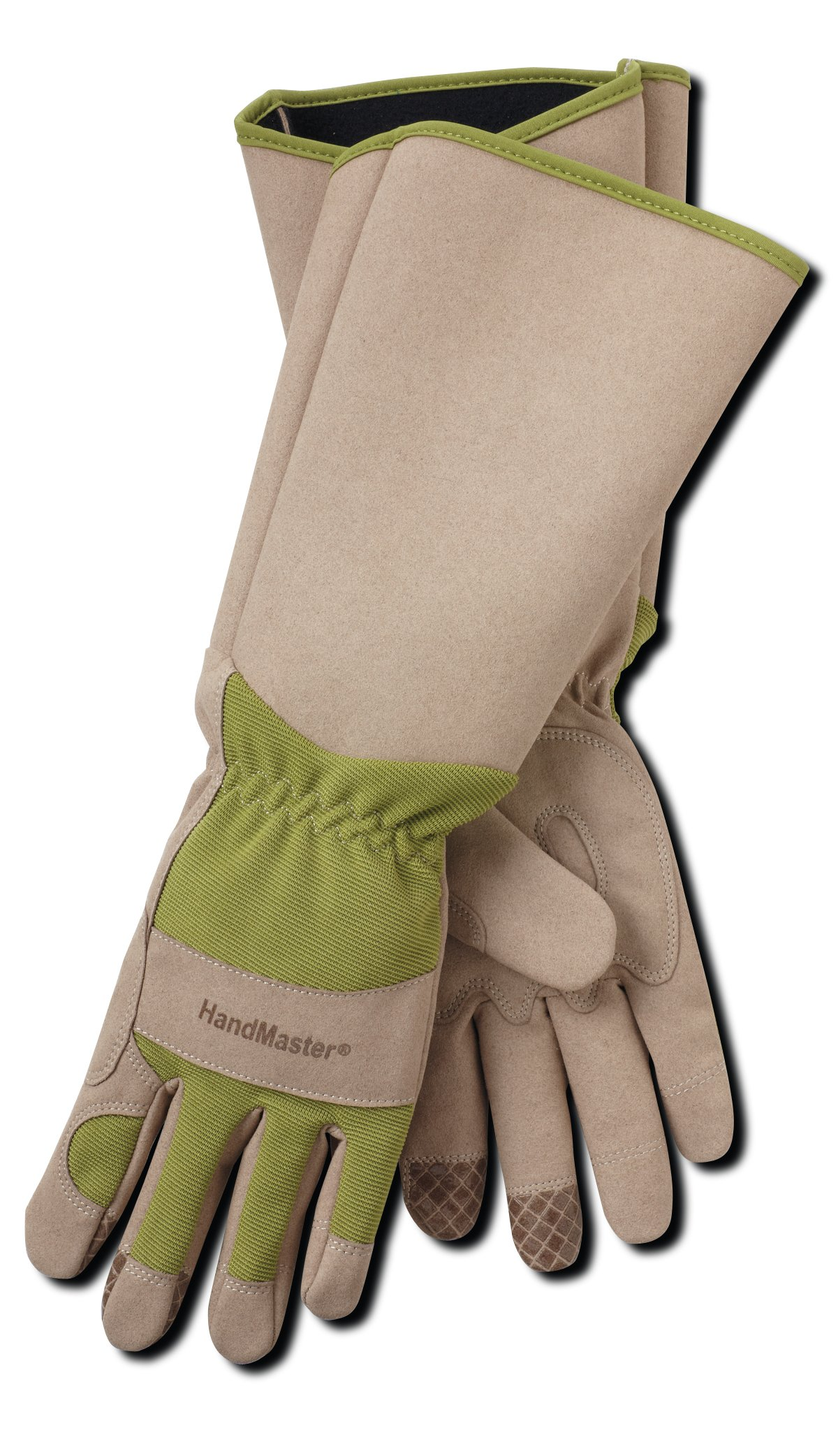 Professional Rose Pruning Thornproof Gardening Gloves with Extra Long Forearm Protection for Men (BE194T-L) - Puncture Resistant, Large (1 Pair)
