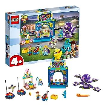 LEGO 4+ Toy Story 4 - Buzz y Woody: Locos por la Feria, Set de Construcción con Atracciones de Juguete, Incluye Minifiguras (10770): Amazon.es: Juguetes y ...