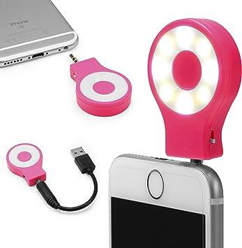 Urcover Selfie Light Ring Smartphone, Anillo Selfie Móvil con Luz ...