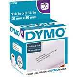 "DYMO Authentic LW Mailing Address Labels | DYMO Labels for LabelWriter Label Printers (1-1/8"" x 3-1/2""), 2 Rolls of 350…"