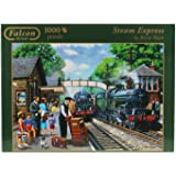 Falcon de Luxe - Steam Express Jigsaw Puzzle (1000 Pieces)