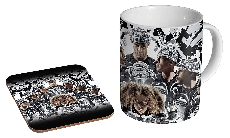 Diversity Dance Group Ceramic Coffee MUG + Coaster Gift Set … mugmart
