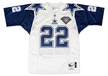 0ee5abc90b9 Mitchell & Ness Emmitt Smith Dallas Cowboys Authentic 1994 White NFL Jersey