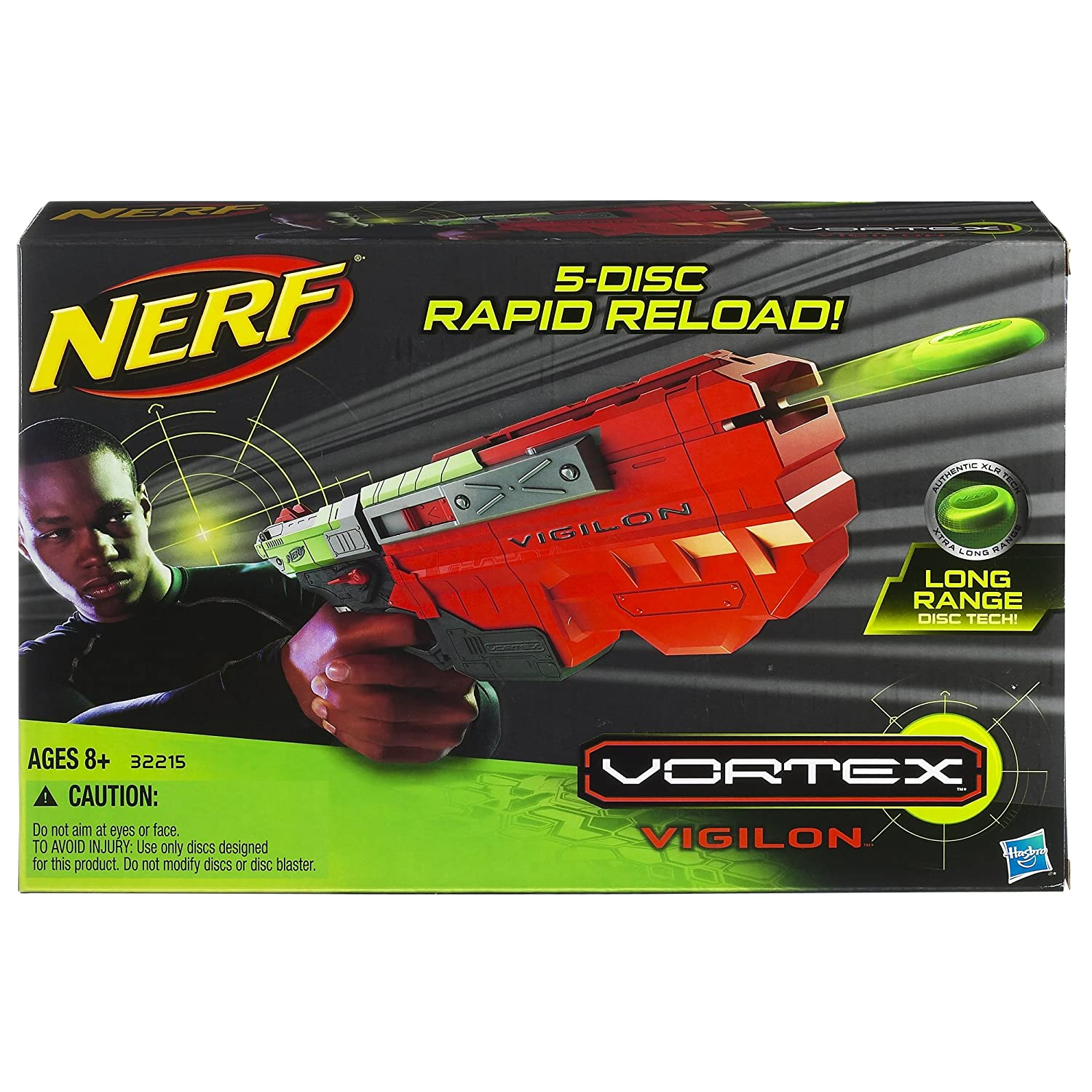 The new lineup of Nerf guns look different and shoot differently, firing  green …