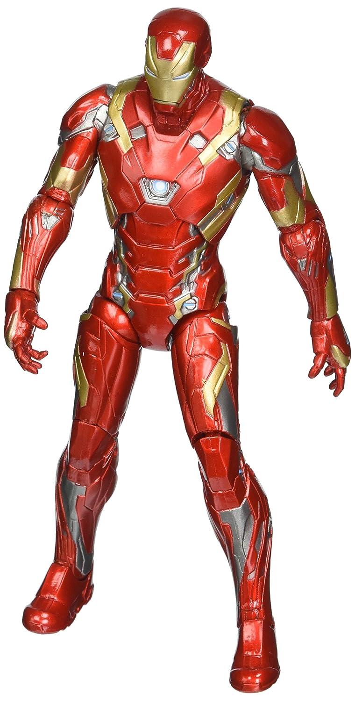 Marvel Select Captain America Civil War Iron Man Mark 46 Action Figure Diamond Comic Distributors JAN162254