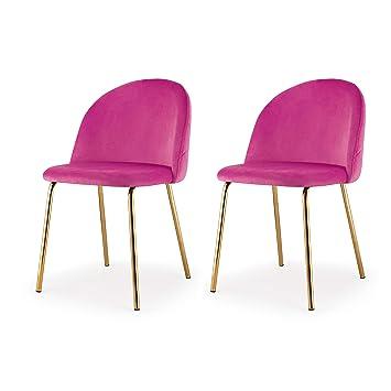 Super Amazon Com Meelano Dining Chair One Size Gold Pink Chairs Uwap Interior Chair Design Uwaporg