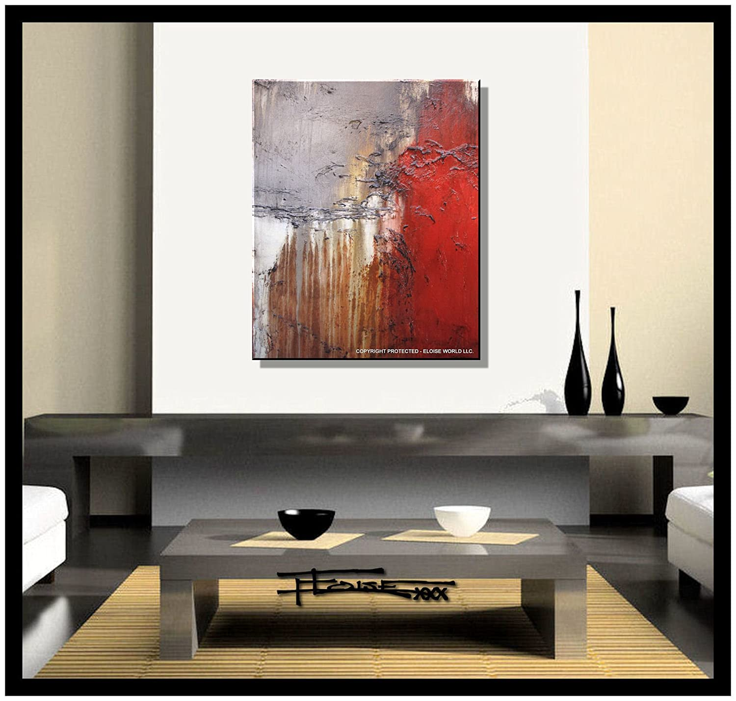 amazoncom abstract canvas painting modern wall art limited editiontextured indecent proposal  x  x  incheseloisexxx oilpaintings . amazoncom abstract canvas painting modern wall art limited