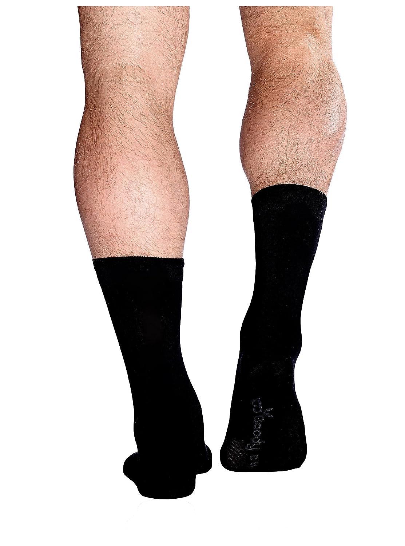 BOODY ECOWEAR APPAREL Business Sock 6-11 Black SMBUBL