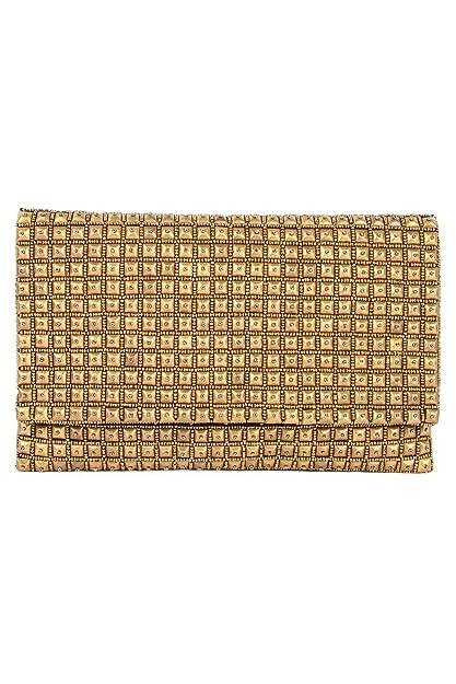 Algodón noche MyBatua Sophia Oro bolso hecho a mano del bolso de embrague ACP-508: Amazon.es: Zapatos y complementos