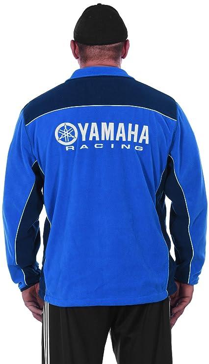 Amazon.com: Para hombre Yamaha Azul cierre de cremallera Up ...