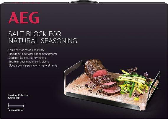 AEG A2SLT - Bloque de sal del Himalaya para cocinar: Amazon.es: Hogar