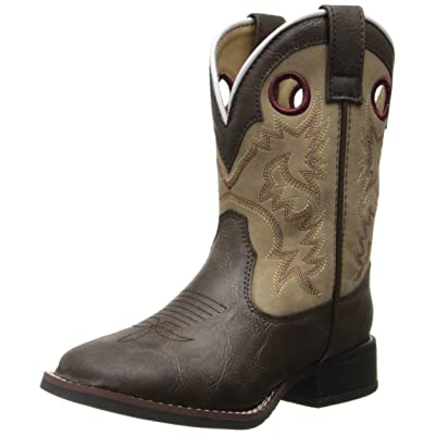 Laredo Kid's Collared Square Toe Western Fashion Boot