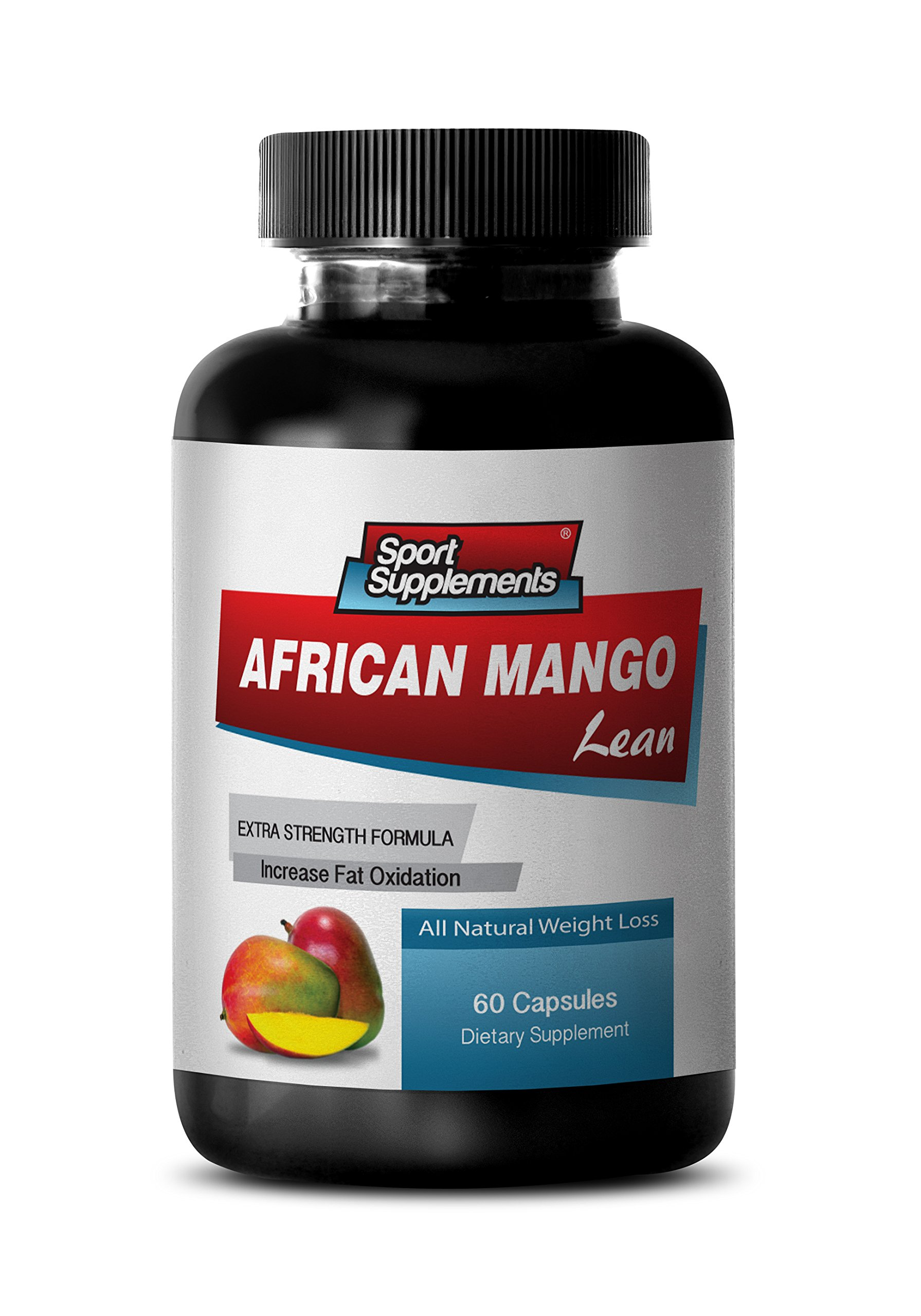 Fat burners for men - AFRICAN MANGO EXTRACT with Green Tea, Resveratrol, Kelp, Grapefruit 1200 Mg - African mango cleanse - 1 Bottle 60 capsules