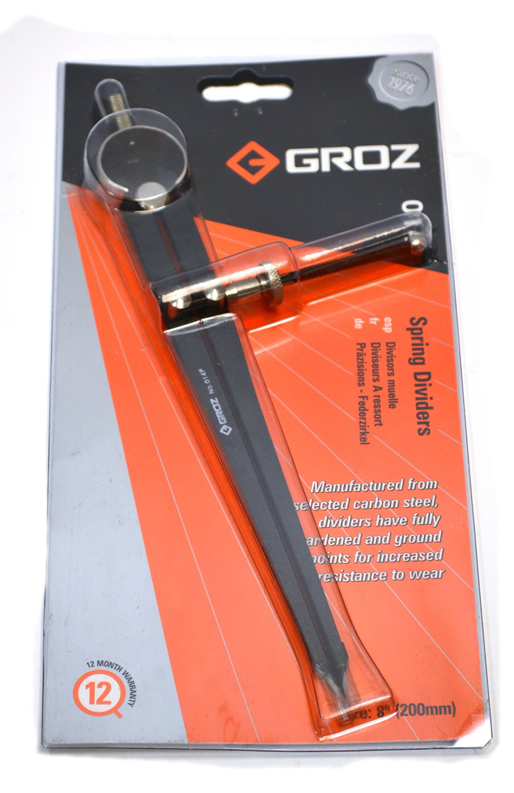 Groz DD/SP/8 Industrial Grade Adjustable Divider, 200 mm