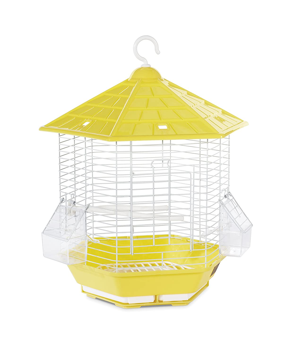 Prevue Pet Products SP31997YELLOW Bali Bird Cage, Yellow