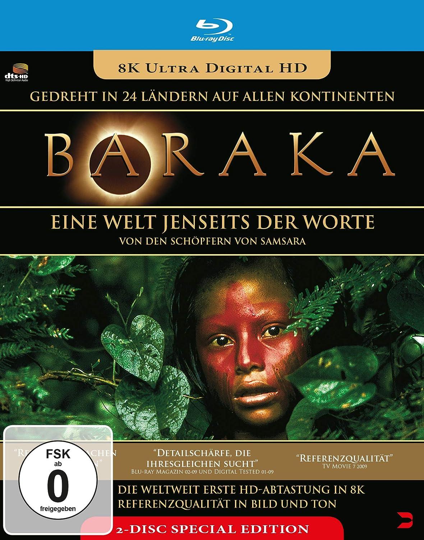 Baraka 2 Blu-ray Special Edition Alemania Blu-ray: Amazon.es ...