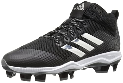 uk availability 0f877 18fd5 adidas Men s Freak X Carbon Mid Baseball Shoe, core Black, Silver met, FTWR