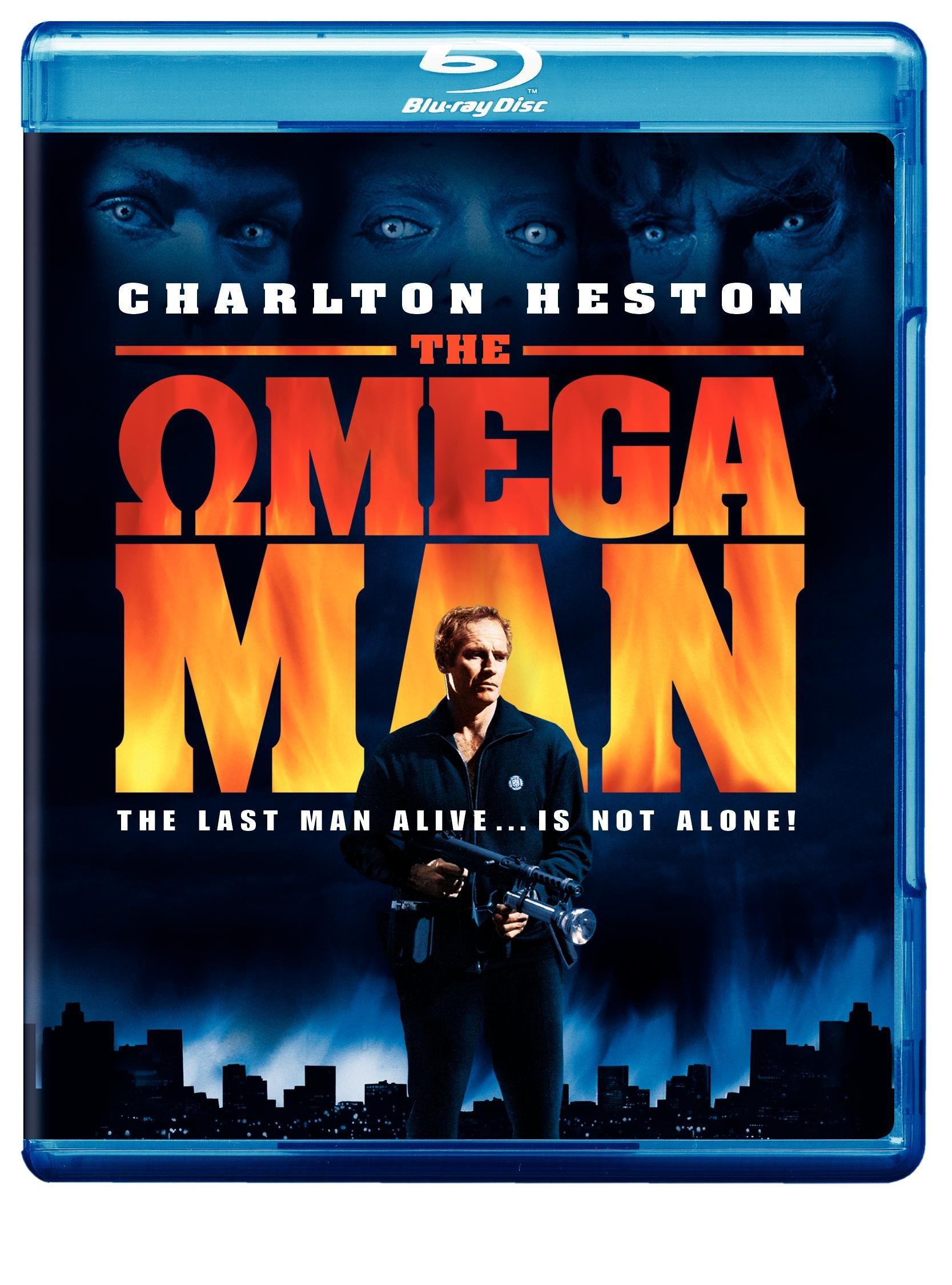 Blu-ray : The Omega Man (, Dubbed, Widescreen, Standard Screen)