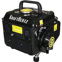 KRAFTHERTZ Benzin Stromerzeuger KH-1000 Upgraded Version! tragbar, 650 W Dauerleistung, max. 720 Watt Leistung 1,2 kW, 63 cm³ Hubraum, 4,2 l Tank, 230 V Steckdose … (Max. 720 Watt)