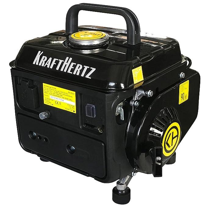 2 opinioni per Krafthertz® generatore di corrente a benzina KH 1000versione aggiornata!