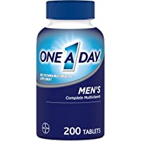 One A Day Men's Multivitamin, Supplement with Vitamin A, Vitamin C, Vitamin D, Vitamin E and Zinc for Immune Health…