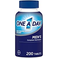 One A Day Men's Multivitamin, Supplement with Vitamin A, Vitamin C, Vitamin D, Vitamin...