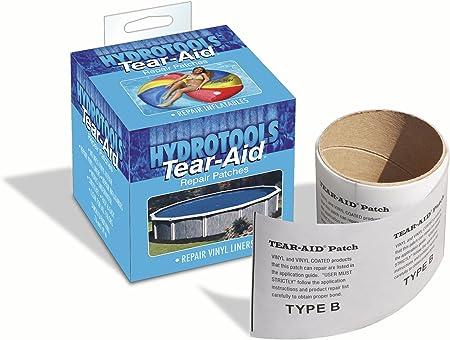 Amazon Com Swimline Tear Vinyl Liner Underwater Repair Tape Swimming Pool Maintenance Kits Garden Outdoor