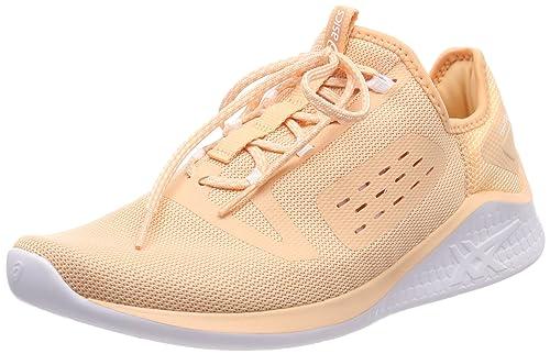 6109ce720cea ASICS Women s Fuzetora Apricot Ice White Running Shoes-4 UK India (37