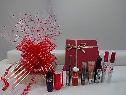 Maybelline - Caja de regalo para maquillaje (10 piezas): Amazon.es ...