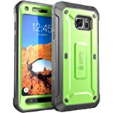 Galaxy S7 Active Case, SUPCASE Full-body Rugged Holster Case with Built-in Screen Protector for Samsung Galaxy S7 Active, Unicorn Beetle PRO Series (Not Compatible with Galaxy S7) (Green/Gray)