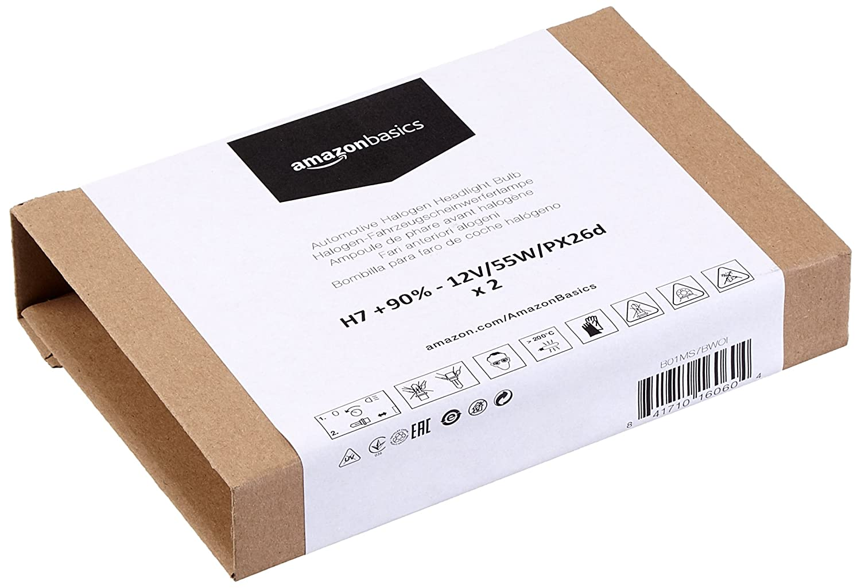 - 12V//55W//PX26d H7 Pack of 1 90/% Basics Automotive Headlight Bulbs
