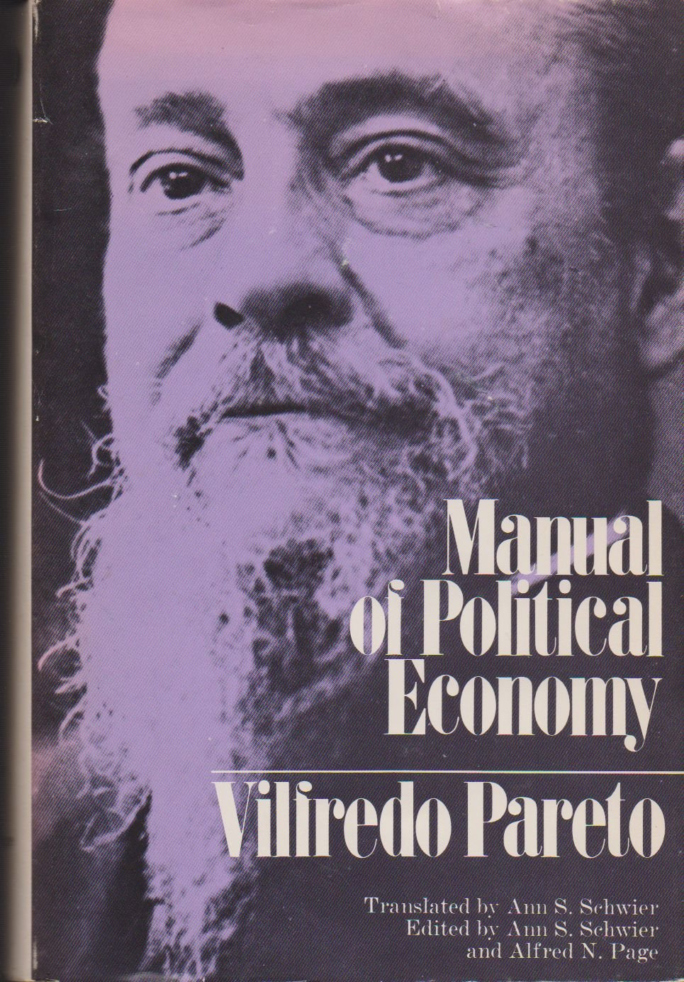 pareto manual of political economy