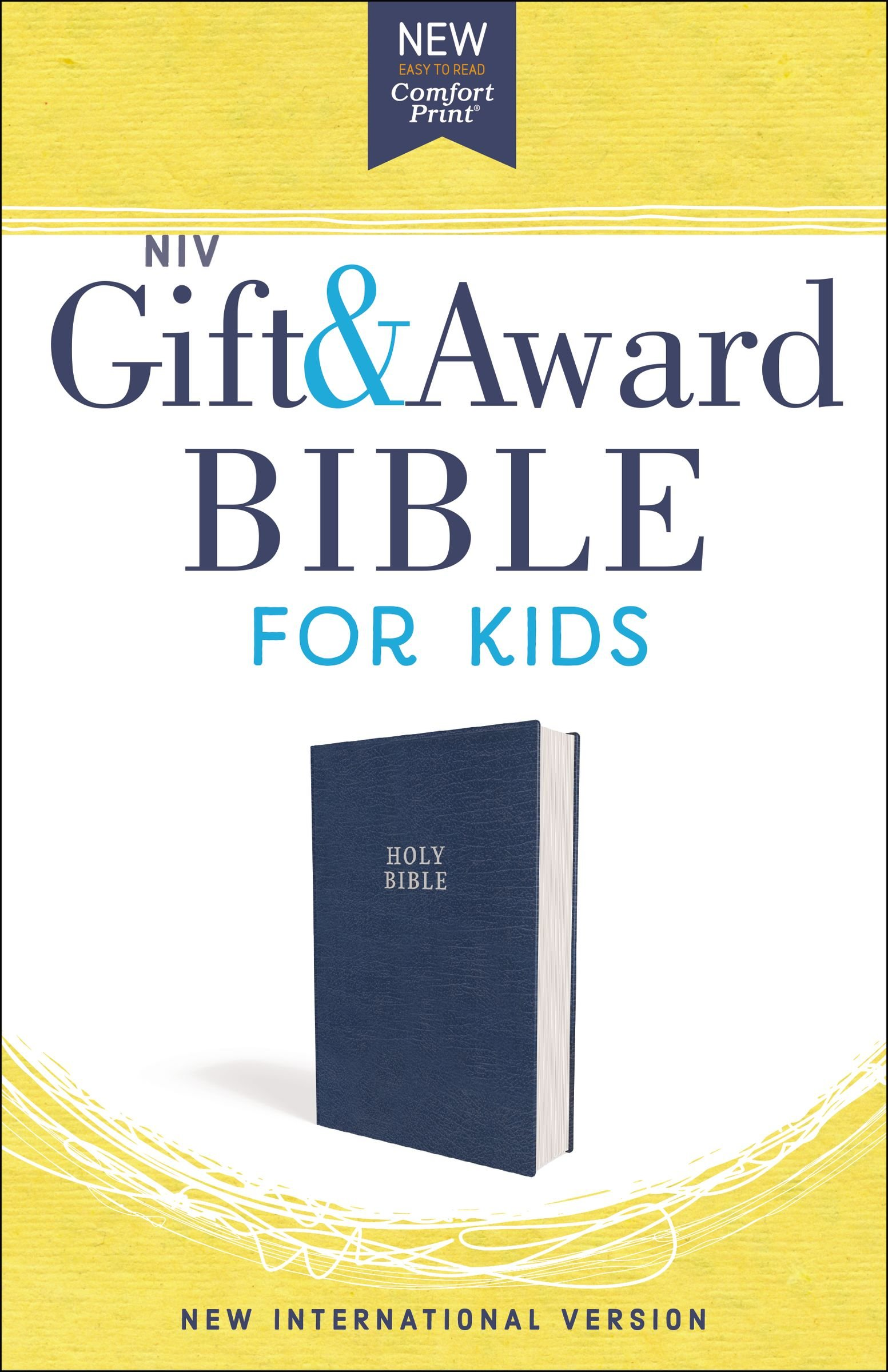 NIV Gift and Award Bible for Kids, Leathersoft, Blue, Comfort Print