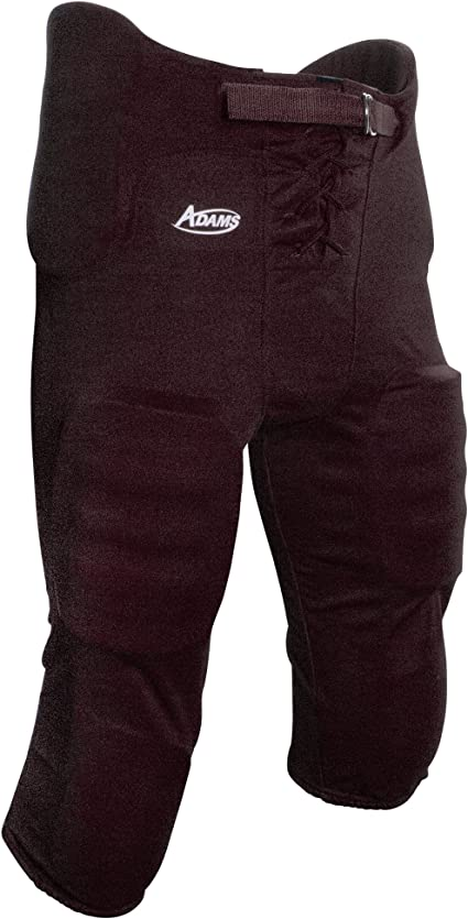New ADAMS USA Youth Football Pant with Sewn In Pads