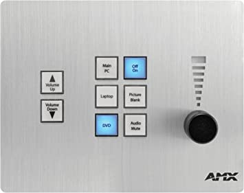 AMX CP-3008 - Mando a Distancia (Audio, DVD/BLU-Ray, PC, Pantalla ...