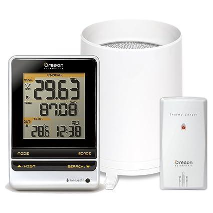 amazon com oregon scientific rgr202 wireless rain gauge and rh amazon com Oregon Scientific ATC2K Manual Oregon Scientific Atomic Clock Manual