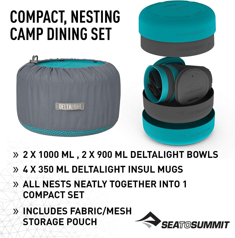 Sea to Summit Delta Light Camp Set Titanium Grey Titanium Grey 4.4