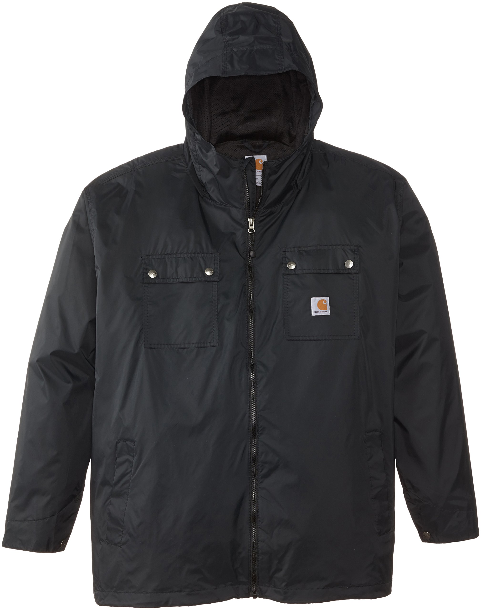 Carhartt Men's Big & Tall Rockford Rain Defender Jacket,Black,XXXX-Large by Carhartt
