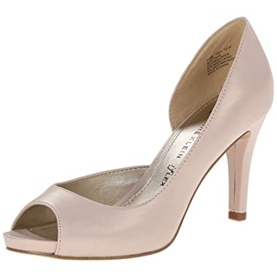 AK Anne Klein Women's Octavie Leather D'Orsay Pump