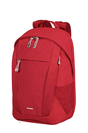 SAMSONITE 2WM Lady - Mochila para Portátil, 42 cm, 14.5 L, Rojo (Red): Amazon.es: Equipaje