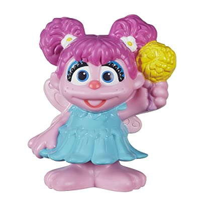 Sesame Street, Abby Cadabby Figure, 2.5 Inches: Toys & Games