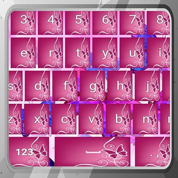 Teclados de mariposas rosadas: Amazon.es: Appstore para ...