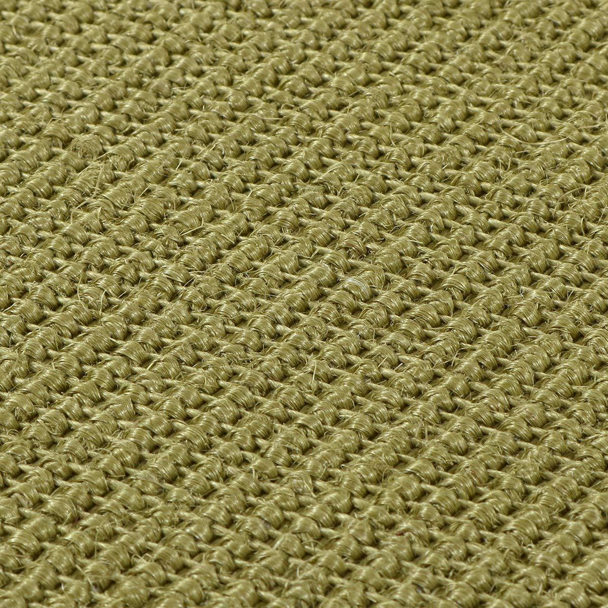 Havatex Havatex Havatex Sisal Teppich Trumpf rund - hypoallergene Naturfaser   schadstoffgeprüft pflegeleicht schmutzabweisend strapazierfähig   ideal für Wohnzimmer Schlafzimmer, Farbe Rot, Größe 200 cm rund B00HSV56EY Teppiche b05328