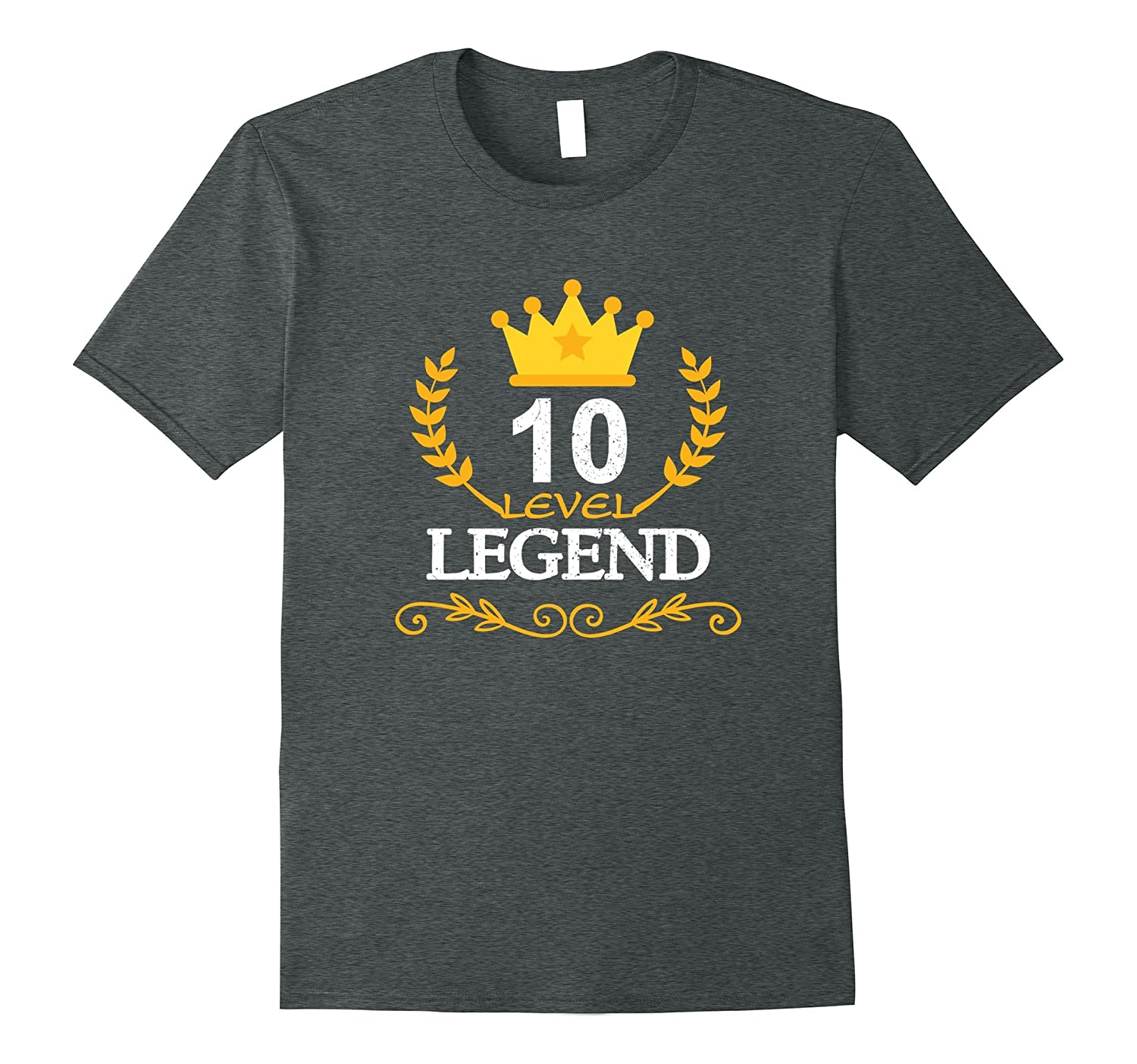 Funny 10th Birthday Gifts T-shirt Kids Legend Vintage Tee