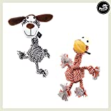 Pets&Partner Hundespielzeug Kautier Hund Oder Giraffe